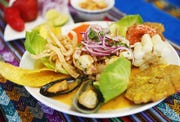 Orgia de Mariscos from Los Andes Peruvian Cuisine in Phoenix August 20, 2019.
