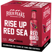 Red Bird Lager from Four Peaks Brewing Company celebrates 100 years of NFL football.