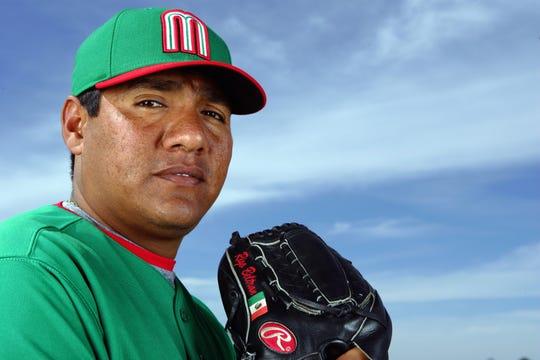 El pitcher Rigoberto Beltrán también representó a México en el Clásico Mundial de Beisbol.