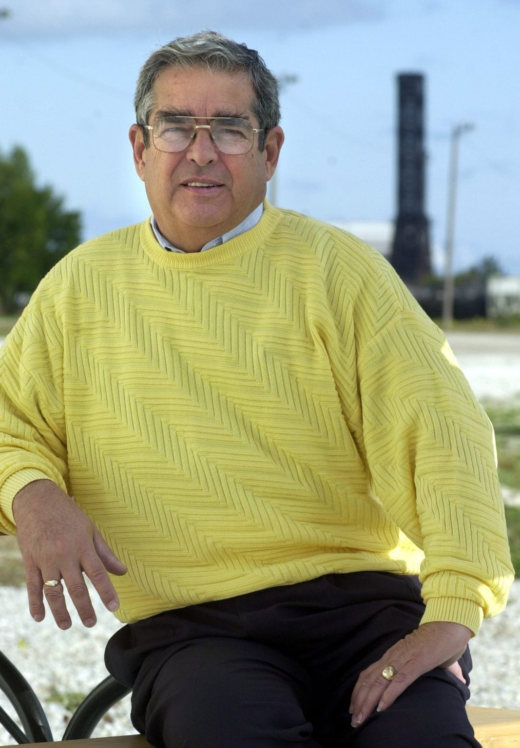 James Acheson, philanthropist, in 2001.
