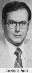 "In this photo published in the Chambersburg Public Opinion, Charles Quinton ""C.Q."" Smith is pictured in 1982."