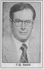 Charles Quinton Smith is shown in a 1988 photo from the Chambersburg Public Opinion.