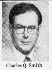 Charles Quinton Smith is shown in a 1981 photo from the Chambersburg Public Opinion.