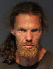 Nathan Aaron Kelso was charged with dumping a vehicle on a dirt road in Sun Valley.