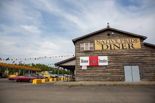 Native Pride, a convenience store and gas station with a diner, is located on Route 20 in Irving, Chautauqua County. Tuesday, Aug. 6, 2019.