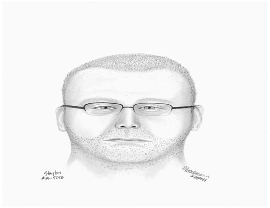 A sketch of a suspect in an attempted sexual assault case in Stayton.