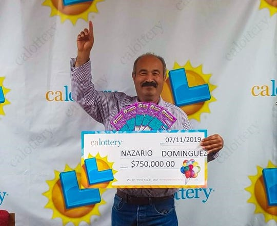 Nazario Dominguez won three-quarters of a million dollars this summer. August 23, 2019.