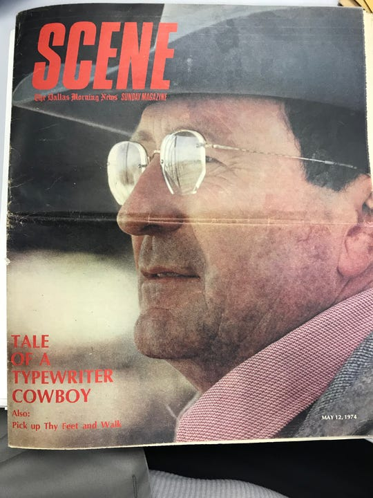 """An extensive interview with Kelton appeared in the Dallas Morning News' """"Scene"""" Magazine in May of 1974. In 1986, The New York Times reviewed one of his books, and that newspaper also published his obituary in 2009."""