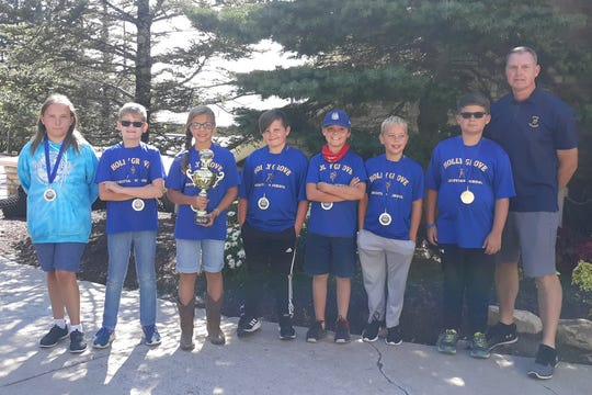 The Holly Grove elementary archery team won its third world championship on Aug. 10, 2019.