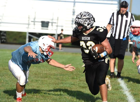 Buffalo Gap hosted Alleghany in its first scrimmage of the season on Friday, August 16.