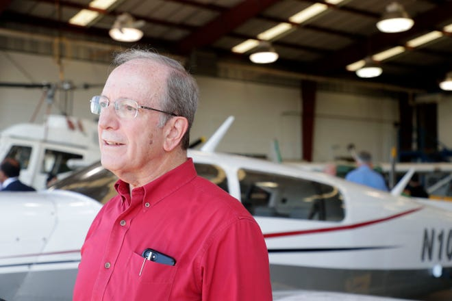 Dr. Jesse Judelle shares memories he created with his family and the plane that he has now donated to Lively Technical College.