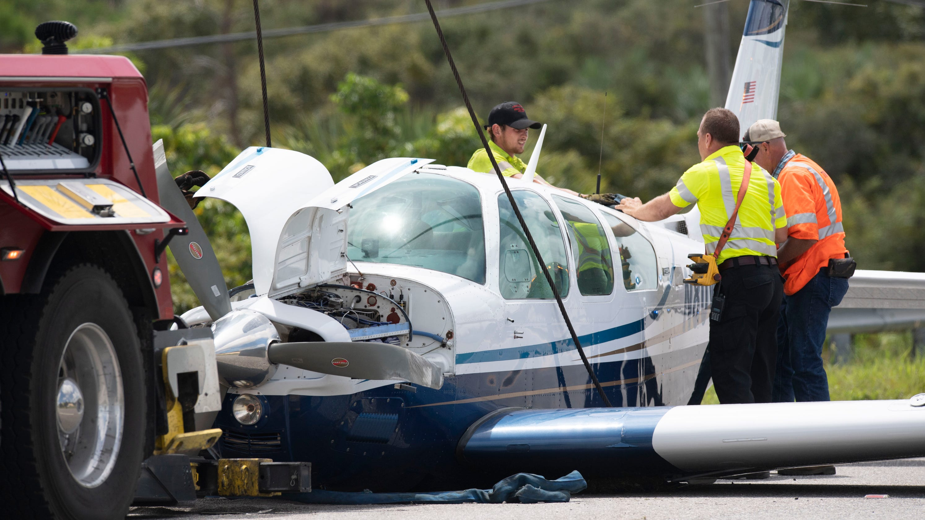 No one hurt after plane makes emergency landing in Martin County