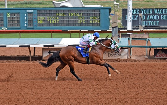 American Hussle qualified for the All American Derby on Sept. 1 at Ruidoso Downs Racetrack and Casino.