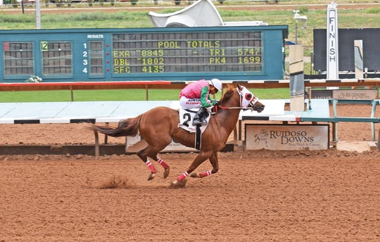Flying Cowboy 123 has qualified for the All American Derby on Sept. 1 at Ruidoso Downs Racetrack and Casino.