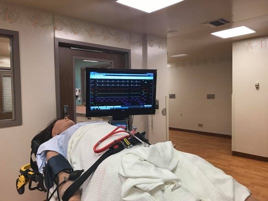 A practice manikin at Aspirus Riverview Hospital and Mid-State's new simulation center in Wisconsin Rapids.