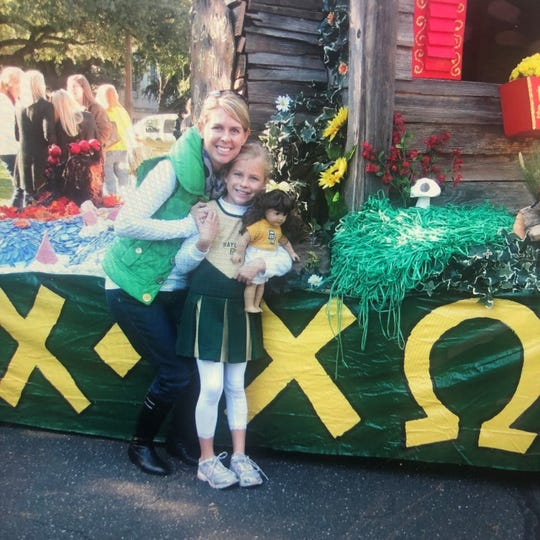 SueAnn Altman, of Wichita Falls, left, introduced her daughter, Brooke, to her love for Baylor University at a young age. Now a college freshman living in the same dorm room as her mother and grandmother, Brooke begins her freshman year in Waco on Monday.