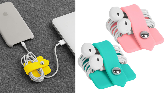Perfect for carrying cords on the go.
