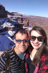 Thanks to Lauren and Steven Keys, things may be a little easier for the next traveler. The couple visited all 61 national parks this year, including Canyonlands, which is pictured here.