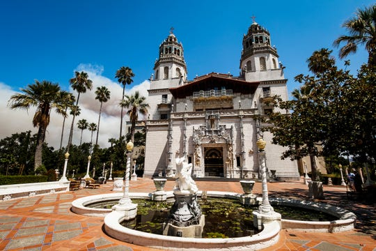 Hearst Castle in San Simeon.