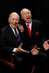 """Longtime comedy pals Reiner and Brooks were honored at the 2010 TV Land Awards. Each had hit series (""""The Dick Van Dyke Show"""" for Reiner, """"Get Smart"""" for Brooks), and both started their careers writing for """"Your Show of Shows"""" with Sid Caesar."""