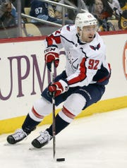 Washington Capitals center Evgeny Kuznetsov had 72 points last season.