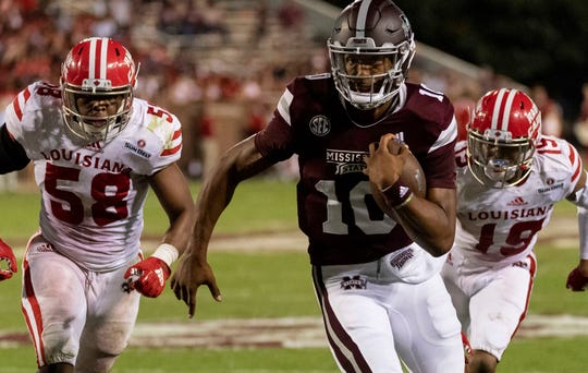 In six appearances last season, Keytaon Thompson threw for 458 yards and rushed for 226 more, accounting for 10 touchdowns.
