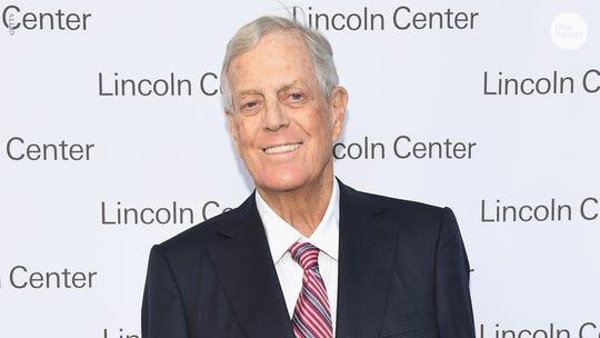 David Koch, billionaire who built conservative political empire, dies at 79