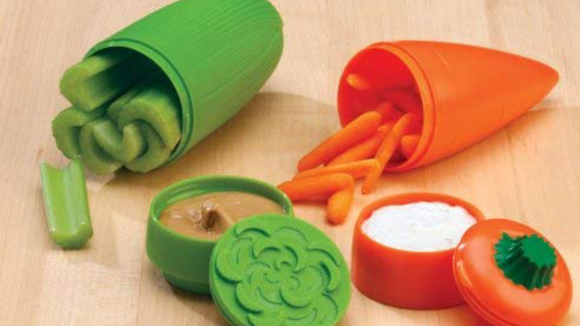 Carry your carrots (or any veggies!) in style.