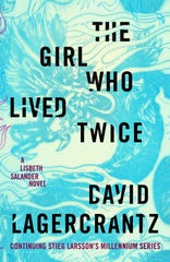 """The Girl Who Lived Twice,"" by David Lagercrantz."