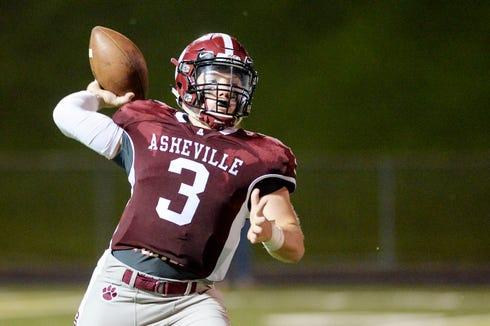 Asheville defeated Franklin 34-6 August 23, 2019 in Asheville.