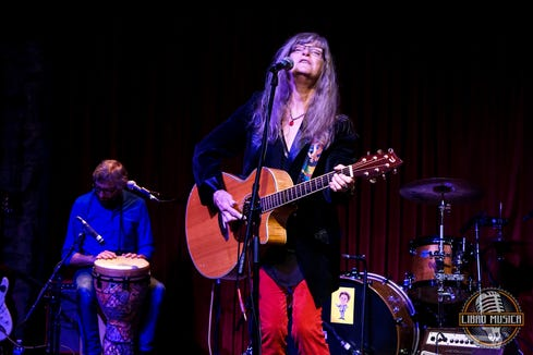 Singer-songwriter Caroline Aiken performs twice this coming week at Brother Don's in Bremerton — Sept. 3 as part of the regular Songwriters' Showcase and again Sept. 5 as part of Jeff Tassin's birthday bash.