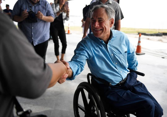 "Texas Gov. Greg Abbott has long used his top NRA grade as an election selling point, tweeting about supporting ""gun rights"" before the 2014 gubernatorial election."