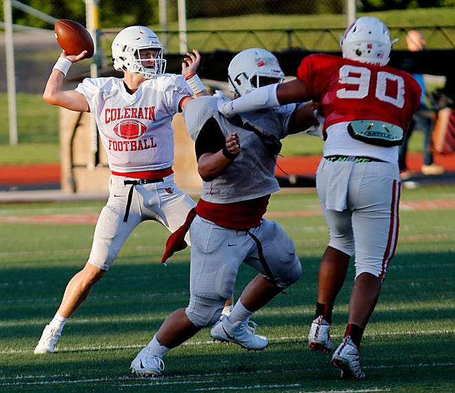 Football at Colerain and Northwest high school would be lost if a November levy goes down. The school district would need to make more than $9 million in cuts if it fails, and sports and all extracurriculars would stop beginning in 2020.