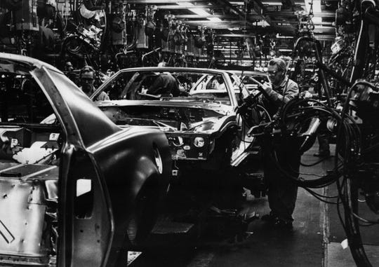 1986: The end of the line is near for assembly workers at GM plants in Norwood and Fairfield.