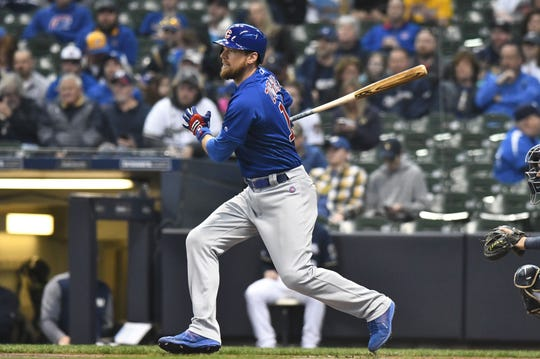 Utility man Ben Zobrist rejoined the Iowa Cubs on Friday night.