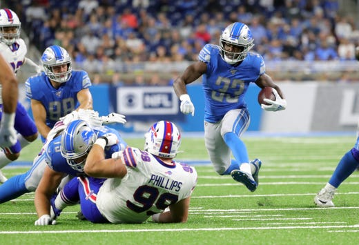 Detroit Lions suffer costly injuries in 24-20 preseason loss to Buffalo Bills