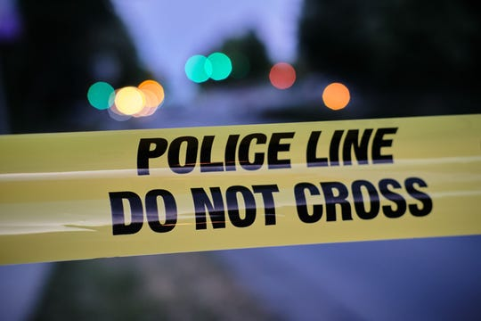Police yellow line