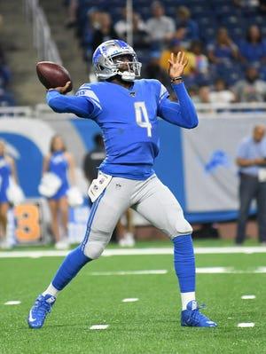Josh Johnson landed the Lions' backup quarterback job.