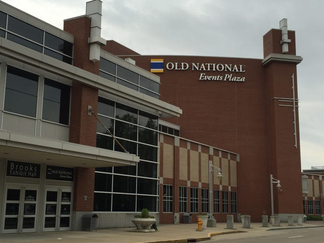 Old National Events Plaza is planning a marquee that could be seen from Lloyd Expressway.