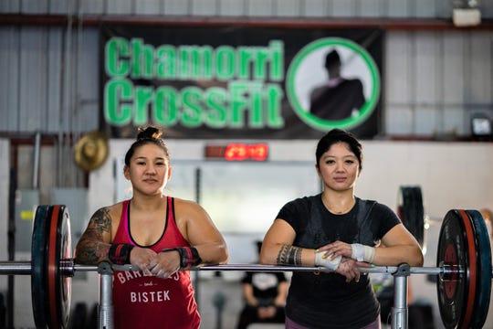 Jacinta Sumagaysay, left and Dayanara Calma will represent Guam at the International Weightlifting Federation World Championships in Pattaya, Thailand in September.