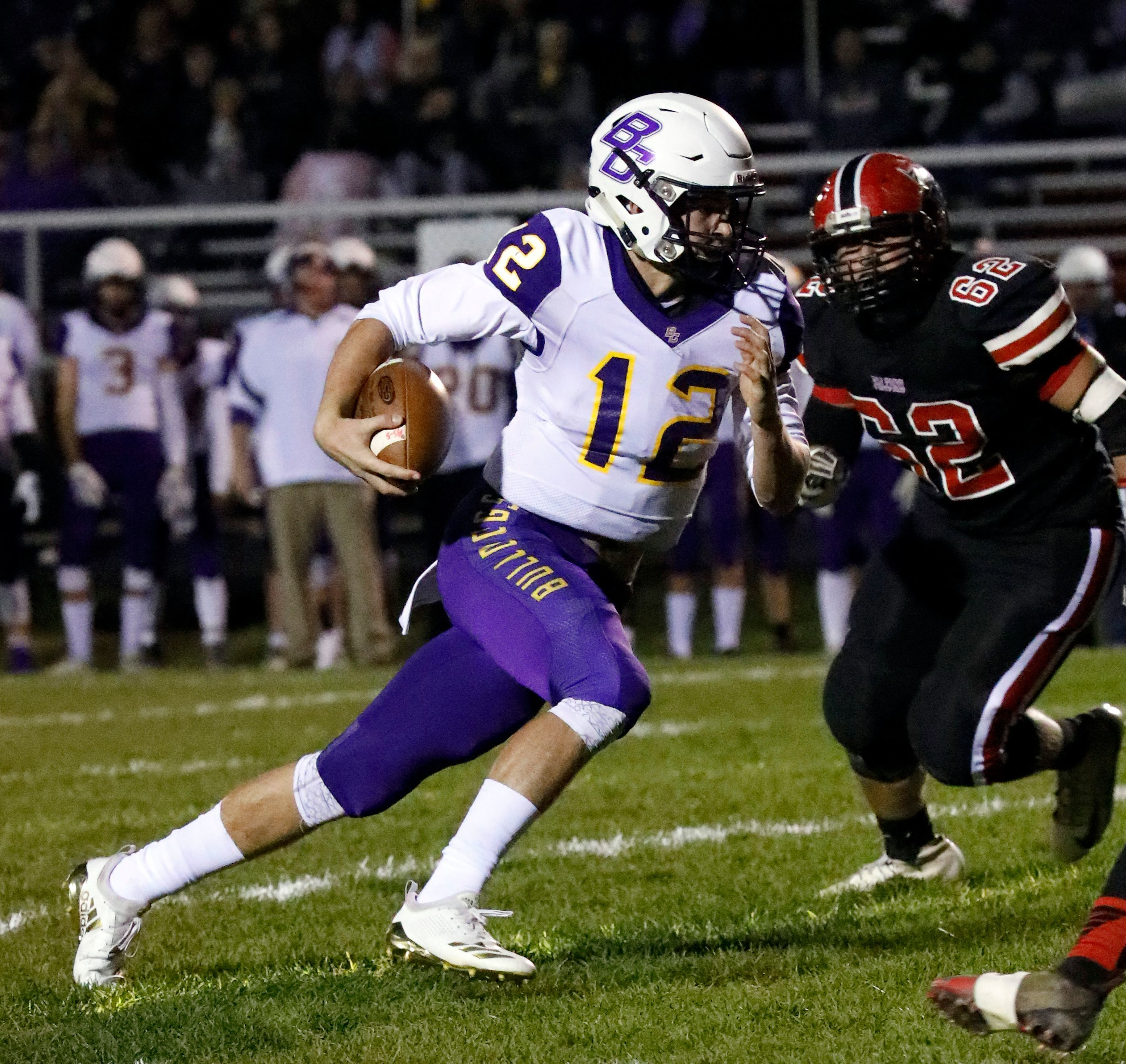 Bloom-Carroll senior quarterback Otto Kuhns has accounted for more than 5,000 yards of total offense the last two seasons while leading the Bulldogs to a league title and back-to-back playoff berths.