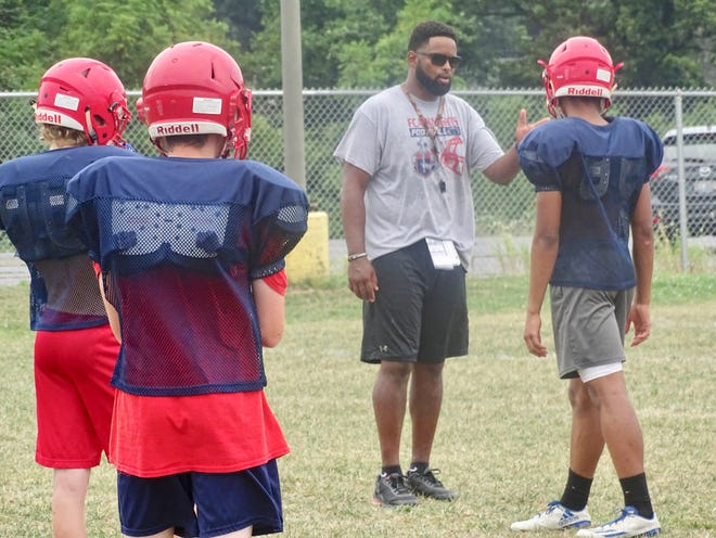 Fairfield Christian Academy coach Anthony Turner begins his fourth season as coach of the Knights.