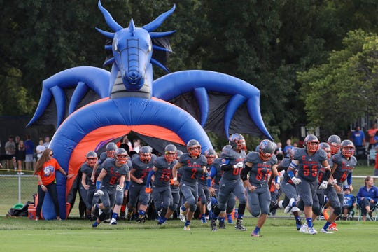 Silver Creek versus Charlestown at Silver Creek High School.Aug. 23, 2019