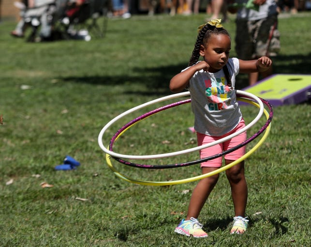 Plenty of activities were enjoyed by kids during the USA Today Network Food Truck Mash Up on Aug. 24, 2019 at Waterfront Park