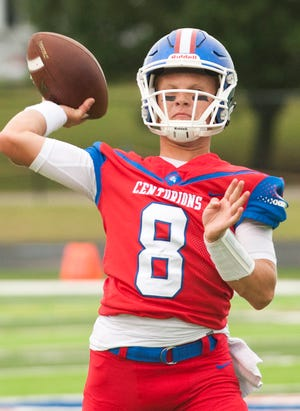 Christian Academy quarterback Connor Masters threw four touchdown passes in Saturday's victory over Western Hills.