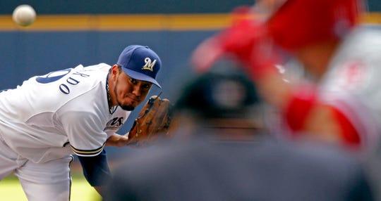Yovani Gallardo was close to a no-hitter in 2011.