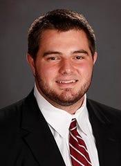 Alabama redshirt junior offensive lineman Landon Dickerson.