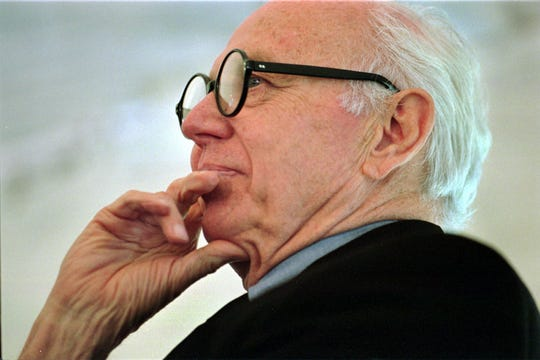 Ellsworth Kelly in August 1999.