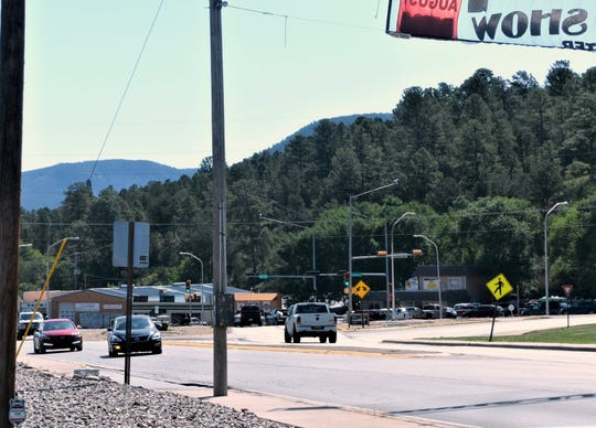 The U.S. 70/Sudderth Drive intersection can be jammed at times during heavy tourist activity. The state transportation department is studying solutions, including the possibility of a round-about.