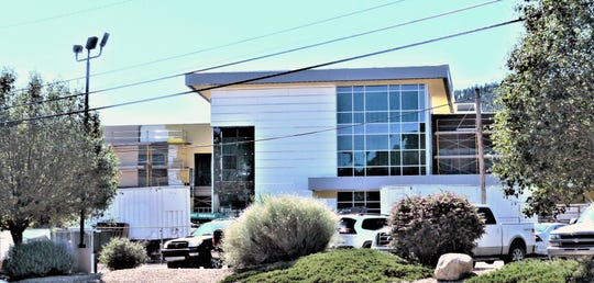 The new portion of the Lincoln County Medical Center is scheduled for completion in March, but a second phase will finish the project. Ruidoso officials anticipate increased traffic.